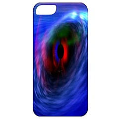 Black Hole Blue Space Galaxy Apple Iphone 5 Classic Hardshell Case