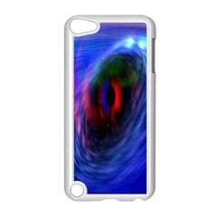 Black Hole Blue Space Galaxy Apple Ipod Touch 5 Case (white)