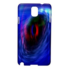 Black Hole Blue Space Galaxy Samsung Galaxy Note 3 N9005 Hardshell Case