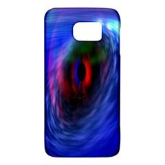 Black Hole Blue Space Galaxy Galaxy S6