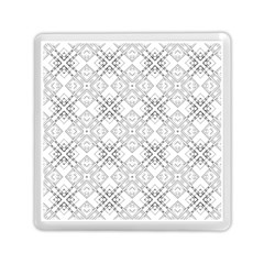 Background Pattern Diagonal Plaid Black Line Memory Card Reader (square)
