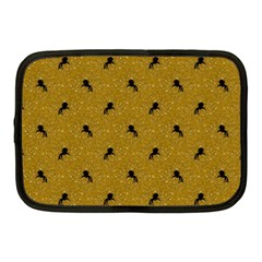 Unicorn Pattern Golden Netbook Case (medium)