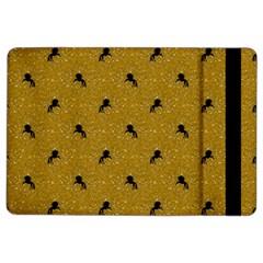 Unicorn Pattern Golden Ipad Air 2 Flip