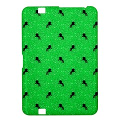 Unicorn Pattern Green Kindle Fire Hd 8 9