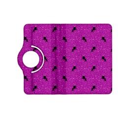 Unicorn Pattern Pink Kindle Fire Hd (2013) Flip 360 Case