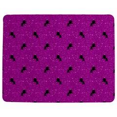 Unicorn Pattern Pink Jigsaw Puzzle Photo Stand (rectangular)