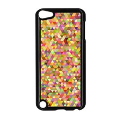 Multicolored Mixcolor Geometric Pattern Apple Ipod Touch 5 Case (black)