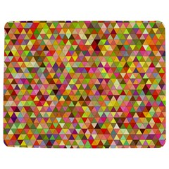 Multicolored Mixcolor Geometric Pattern Jigsaw Puzzle Photo Stand (rectangular)