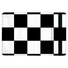 Grid Domino Bank And Black Ipad Air Flip