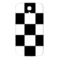 Grid Domino Bank And Black Samsung Galaxy Mega I9200 Hardshell Back Case