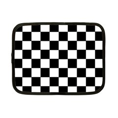 Grid Domino Bank And Black Netbook Case (small)