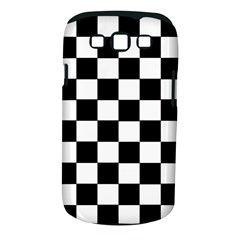 Grid Domino Bank And Black Samsung Galaxy S Iii Classic Hardshell Case (pc+silicone)