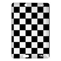 Grid Domino Bank And Black Amazon Kindle Fire Hd (2013) Hardshell Case