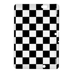 Grid Domino Bank And Black Kindle Fire Hdx 8 9  Hardshell Case
