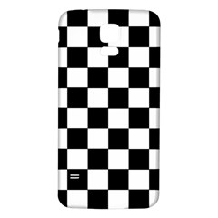 Grid Domino Bank And Black Samsung Galaxy S5 Back Case (white)