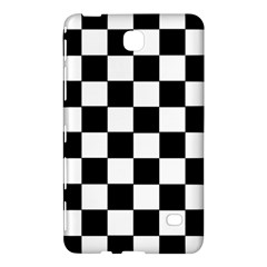 Grid Domino Bank And Black Samsung Galaxy Tab 4 (8 ) Hardshell Case