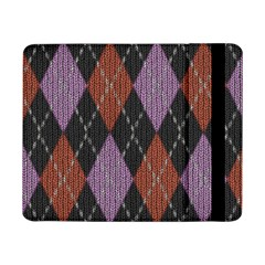 Knit Geometric Plaid Fabric Pattern Samsung Galaxy Tab Pro 8 4  Flip Case