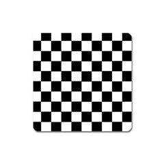 Grid Domino Bank And Black Square Magnet