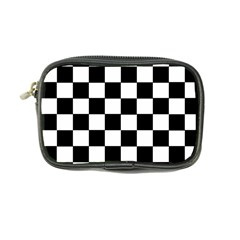 Grid Domino Bank And Black Coin Purse