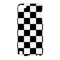 Grid Domino Bank And Black Apple Ipod Touch 5 Hardshell Case