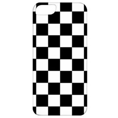 Grid Domino Bank And Black Apple Iphone 5 Classic Hardshell Case