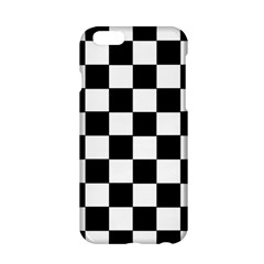 Grid Domino Bank And Black Apple Iphone 6/6s Hardshell Case