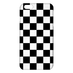 Grid Domino Bank And Black Iphone 6 Plus/6s Plus Tpu Case
