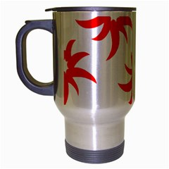 Star Figure Form Pattern Structure Travel Mug (silver Gray)