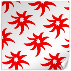 Star Figure Form Pattern Structure Canvas 12  X 12