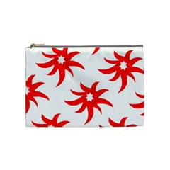 Star Figure Form Pattern Structure Cosmetic Bag (medium)