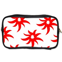 Star Figure Form Pattern Structure Toiletries Bags 2 Side