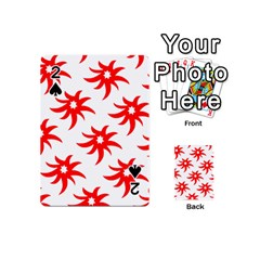 Star Figure Form Pattern Structure Playing Cards 54 (mini)