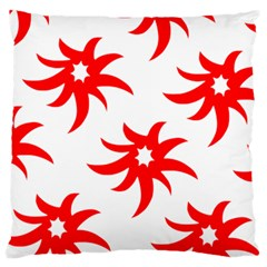 Star Figure Form Pattern Structure Large Cushion Case (one Side)