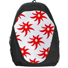 Star Figure Form Pattern Structure Backpack Bag
