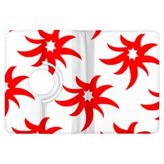 Star Figure Form Pattern Structure Kindle Fire Hdx Flip 360 Case