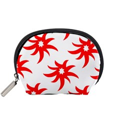 Star Figure Form Pattern Structure Accessory Pouches (small)