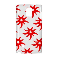 Star Figure Form Pattern Structure Samsung Galaxy Note 4 Hardshell Case