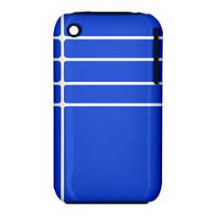 Stripes Pattern Template Texture Blue Iphone 3s/3gs