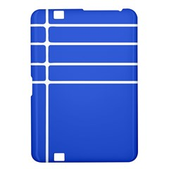 Stripes Pattern Template Texture Blue Kindle Fire Hd 8 9