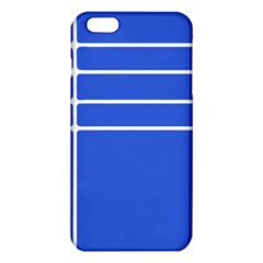Stripes Pattern Template Texture Blue Iphone 6 Plus/6s Plus Tpu Case