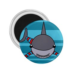 Shark Sea Fish Animal Ocean 2 25  Magnets