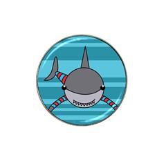 Shark Sea Fish Animal Ocean Hat Clip Ball Marker (10 Pack)