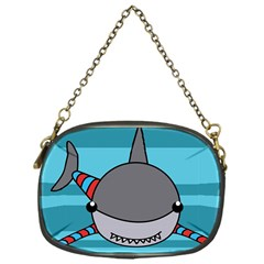 Shark Sea Fish Animal Ocean Chain Purses (one Side)