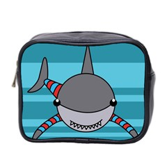 Shark Sea Fish Animal Ocean Mini Toiletries Bag 2 Side