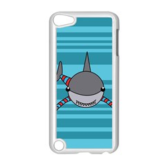 Shark Sea Fish Animal Ocean Apple Ipod Touch 5 Case (white)