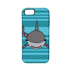Shark Sea Fish Animal Ocean Apple Iphone 5 Classic Hardshell Case (pc+silicone)