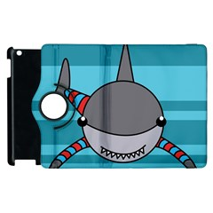 Shark Sea Fish Animal Ocean Apple Ipad 3/4 Flip 360 Case