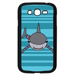 Shark Sea Fish Animal Ocean Samsung Galaxy Grand DUOS I9082 Case (Black) Front