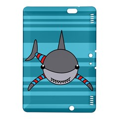 Shark Sea Fish Animal Ocean Kindle Fire Hdx 8 9  Hardshell Case