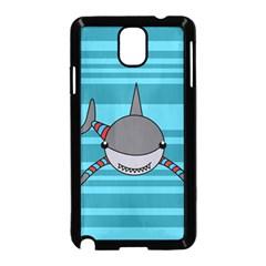 Shark Sea Fish Animal Ocean Samsung Galaxy Note 3 Neo Hardshell Case (black)